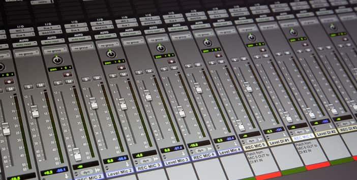 master control at WERA-FM